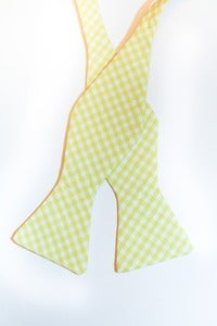 Image of Yellow Gingham
