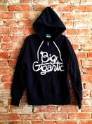 Image of Black Big Gigantic Hoodie