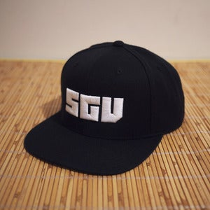 Image of SGV block logo snapback hat