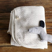 Image of Fog Linen Baby Blanket