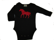 "Image of  baby ""Red Horse"" tee"