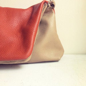 Image of Versatile Color Block Bag