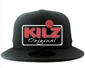 Image of KILZ Original SnapBack Hat. (BLACK)