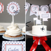 Image of Halloween Birthday Custom Party Printables