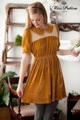 Image of National Velvet Dress (toffee)