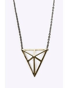 Triangle Cage Necklace