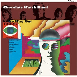 Image of CHOCOLATE WATCH BAND | NO WAY OUT LP
