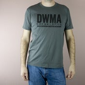 Image of DWMA tee - dark grey