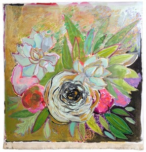 "Image of flowers for britt 20""x21"""