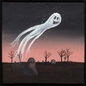 Image of Halloween Painting #2: The Ghost