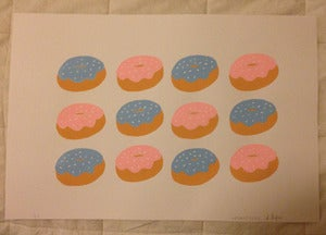 Image of Donut Print