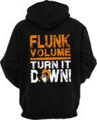 Image of FLUNK VOLUME HOODIE (ON CLEARANCE)