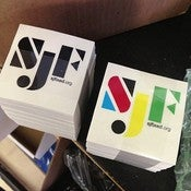 Image of SJF sticker pack