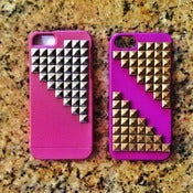 Image of NEW: LSD Studded Iphone 5 Case