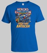Image of HEROESCON 2011 T-SHIRT :: FIGHTING AMERICAN DESIGN