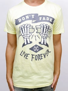 Image of LIVE FOREVER (Yellow)
