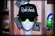 Image of OAKLAND RATCHETS SNAPBACK (black/black)