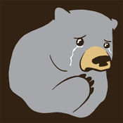 Image of Crying Bear T-Shirt