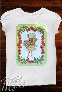 Image of Applique T-shirt - Pistachio Fairy