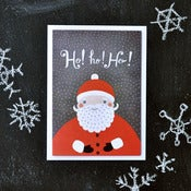 "Image of ""Ho! Ho! Ho!"" Holiday Card"