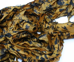 Image of Golden Yellow: Jersey Girl Reclaimed Silk Ribbon