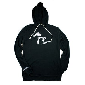 Image of Great Lakes Pullover Hoodie Black
