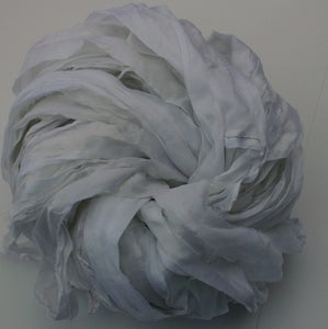 Image of White (and dyeable) Chiffon Ribbon