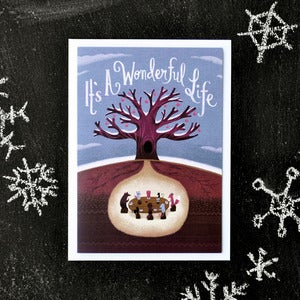 "Image of ""It's A Wonderful Life"" Holiday Card"