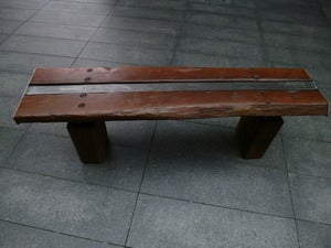 Image of rail bench