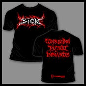 Image of SICK | Logo / Consuming Putrid Innards | T-shirt
