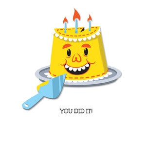Image of Birthday: You Did It! Card