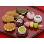 Image of Gommes puzzle desserts japonais - IWAKO