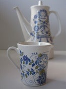 Image of Vintage Figgjo Flint turi-design 'Lotte' Milk Jug