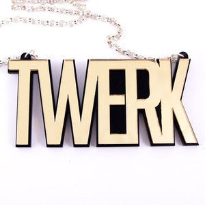 Image of Twerk Necklace