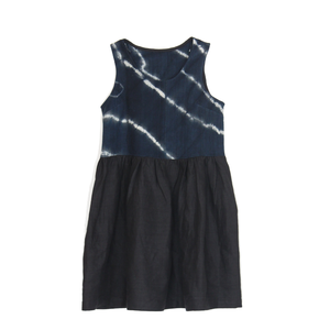 Indigo Mudcloth Dress