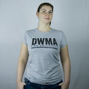 Image of DWMA ladies tee - mid grey