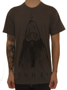 "Image of RUNES ""Witch"" t shirt dark grey"