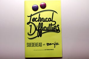 Image of technical difficulties 'zine