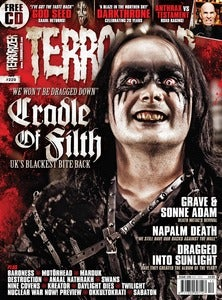 Image of Terrorizer 229 - Cradle of Filth, God Seed, Grave, Sonne Adam and more!