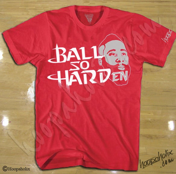 James Harden Houston Rockets shirt