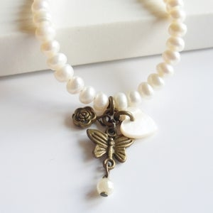 Image of Enchantment Charm Bracelet (pearl)