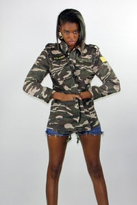 Image of Army Fatigue Jacket