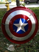 Image of Aluminum Captain America Shield