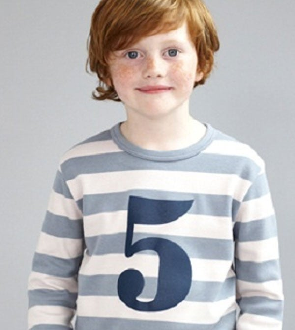 Image of Birthday Tee (No. 1-5), Slate &amp; Stone