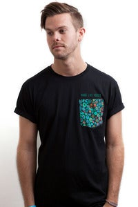 Image of Hands Like Houses - Floral Pocket Tee (limited edition)