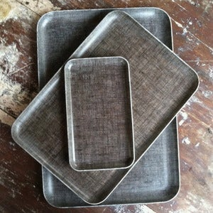 Image of Linen Tray: Natural