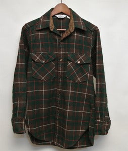 Image of Woolrich wool shirt (S)