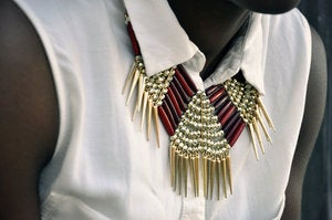 Image of Spikey Collar Necklace