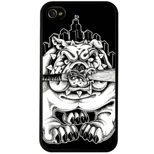 "Image of ""Bulldog City"" Phone Cover"