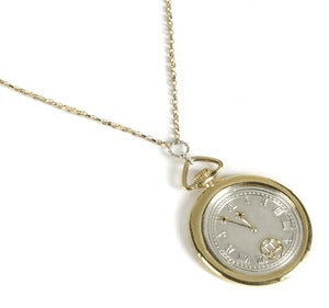 Image of Wax Seal Pocket Watch Necklace